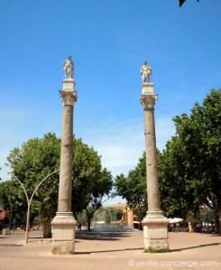 Roman pillars - Alameda de Hercules