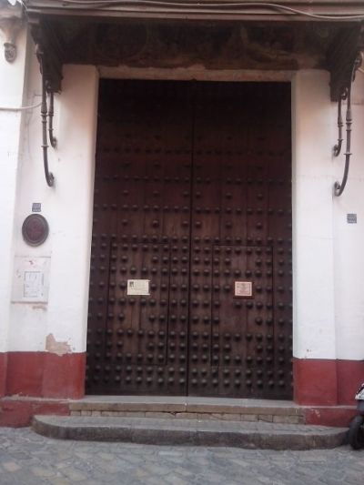 Entrance to Las Teresas convent
