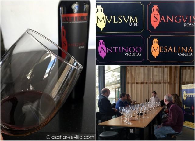 roman wine tasting